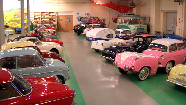 PHOTO: A German collector has opened a museum to exhibit his treasured vintage microcars. For a while, they were a popular and affordable alternative to motorbikes during Germanys postwar economic miracle.