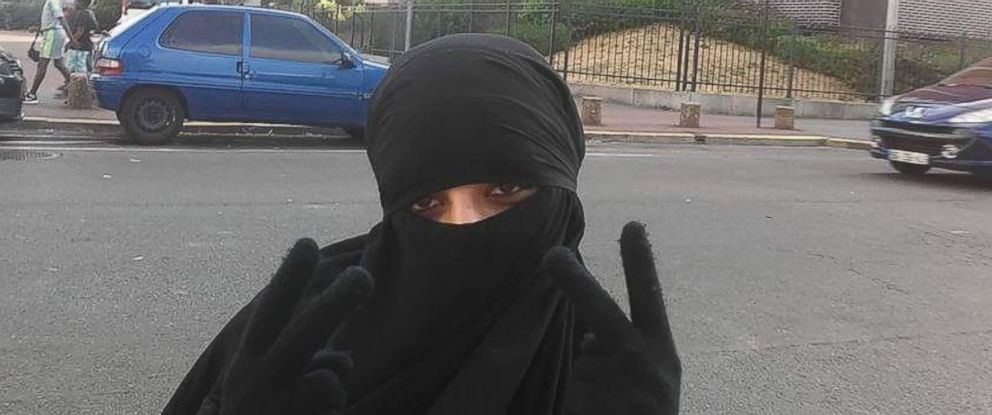 PHOTO: Hasna Ait Boulahcen is seen in a photograph taken in 2015 in Paris.