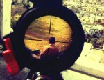 PHOTO: An Instagram photograph of what appears to be a rifle sight targeted on a Palestinian boy by Israeli soldier, Mor Ostrovski, has prompted a military investigation.