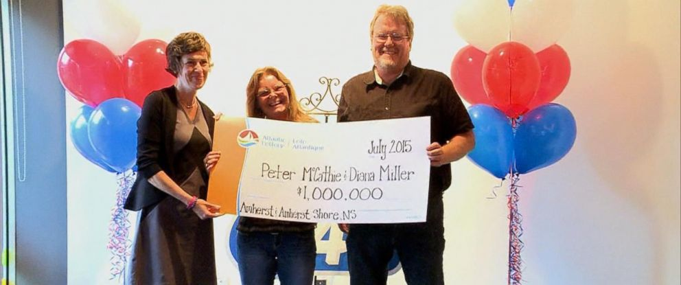 PHOTO: The odds of Peter McCathie being struck by lightning and winning the lottery in his lifetime are 1 in 2.6 trillion.