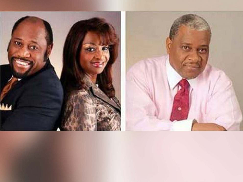 PHOTO: Myles Munroe and his wife Ruth (left) were co-leaders of the church and Richard Pinder, the senior vice president of the organization (right) were all listed as expected speakers at the conference