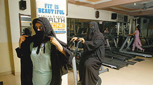 No burkini workout for women in Qatar