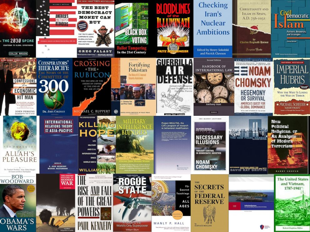 PHOTO: On May 20, 2015, the Office of the Director of National Intelligence released a list of 39 English-language books recovered during the raid that killed Osama bin Ladin.