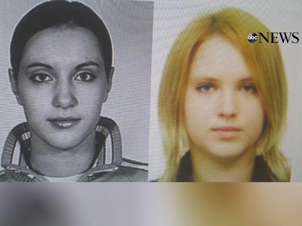 PHOTO: Chernykh sisters Mariya, right, and Tatiana, left.