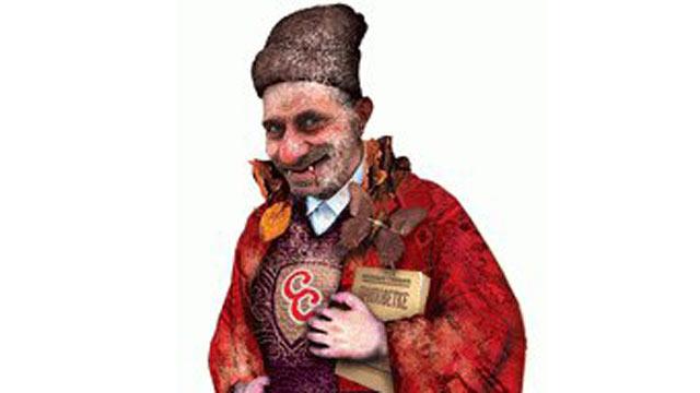 PHOTO: Sava Savanovic the vampire, of Serbian folklore.