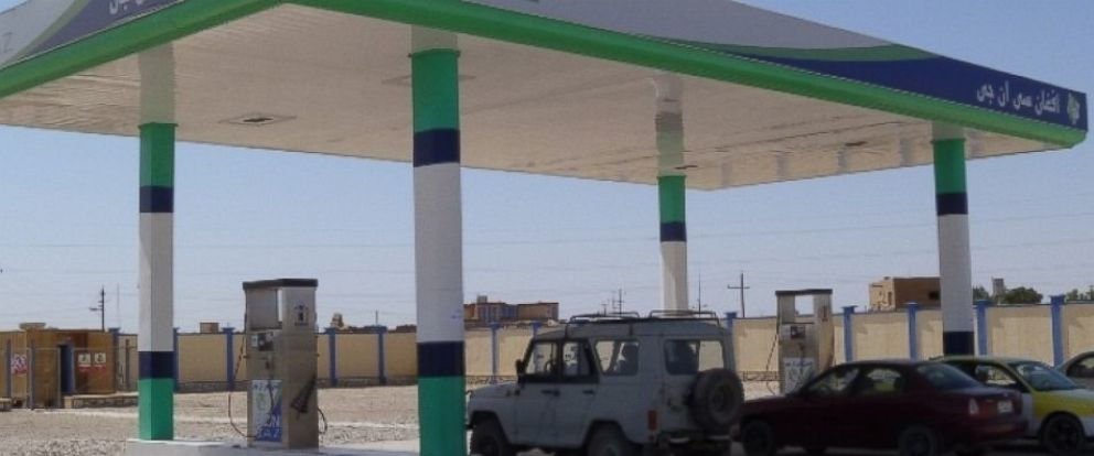 PHOTO: A compressed natural gas station in Sheberghan, Afghanistan was the subject of an Oct. 22, 2015 report by the Special Inspector General for Afghanistan Reconstruction.