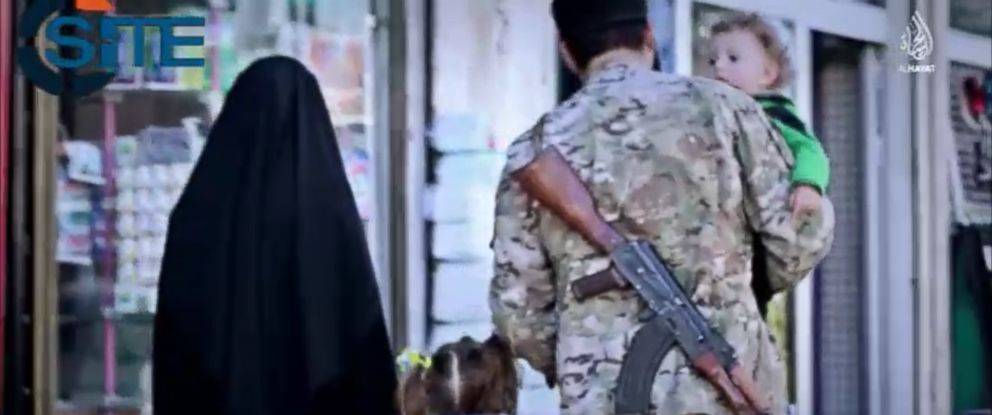 PHOTO: In an ISIS video released in early June 2015, the terror group calls on supporters from the Balkans.