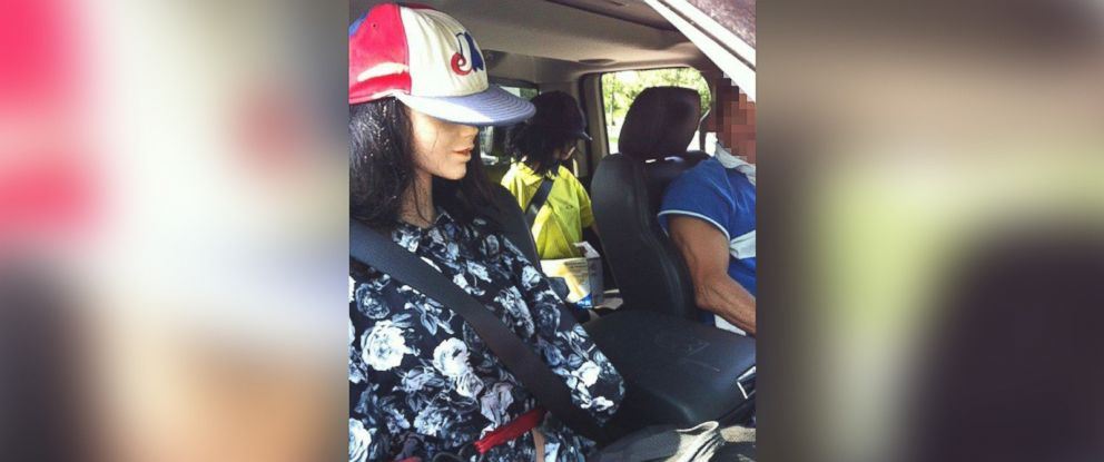 PHOTO: A Toronto driver used two dummies in an attempt to use the HOV lane.