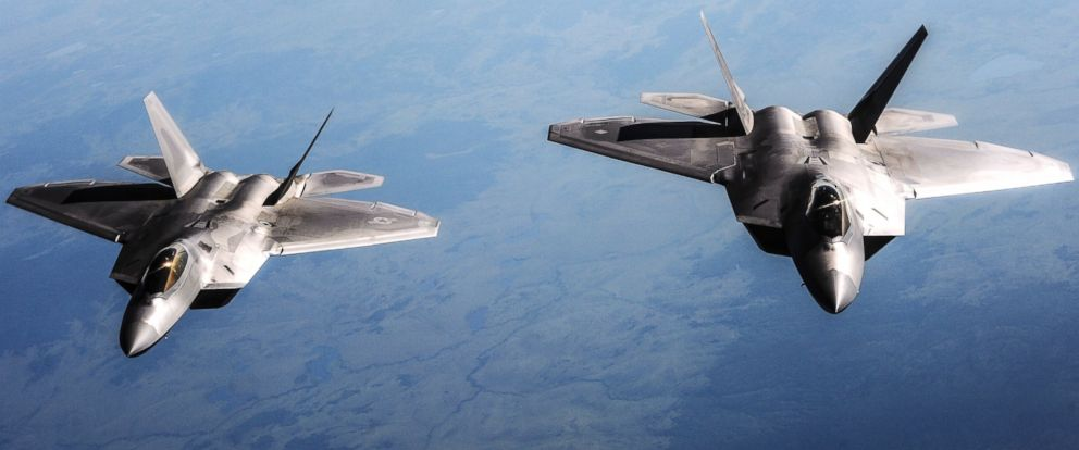 us doesn t need 400m f 22 raptor fighter jets in syria uses them