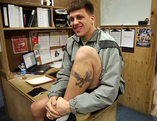 PHOTOS: Tattoos in the military Photos - ABC News