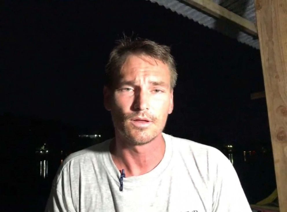 PHOTO: Simon Hammerling speaks to ABC News in a Skype interview, Oct. 15, 2019.
