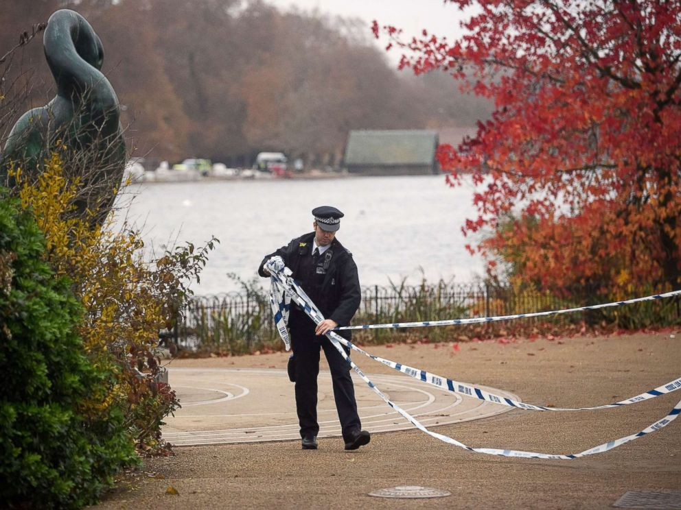 Unexploded World War II bomb found in London's Hyde Park