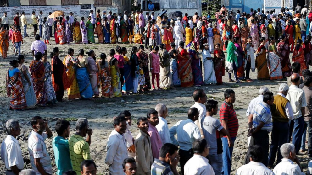 Elections begin in India, the world's most populous democracy