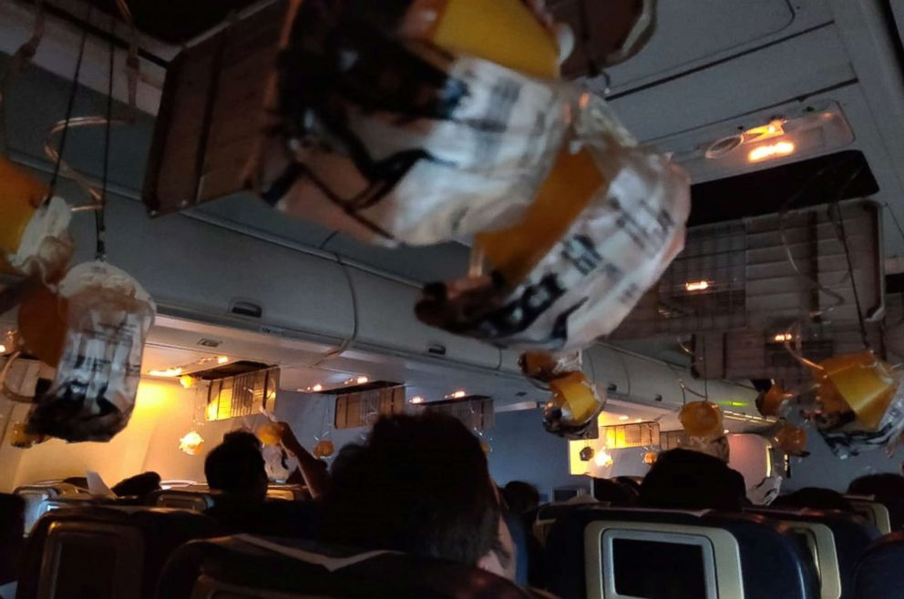 Airplane passengers left bleeding from ears and nose after cabin pressure mistake