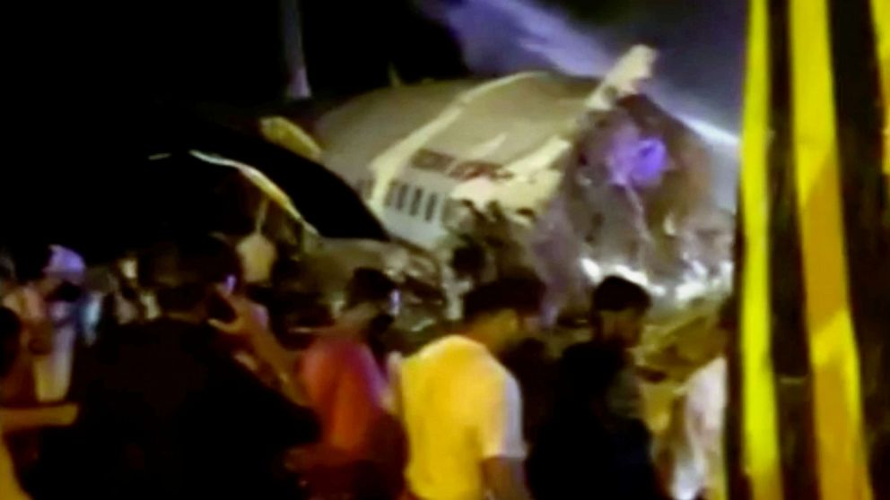 Air India plane crashes on landing with almost 200 onboard thumbnail