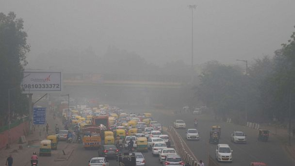New Delhi, India, rations cars to combat deadly air pollution, Supreme Court weighs in