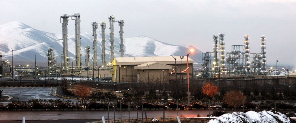 PHOTO: A general view of the water facility at Arak south-west of the Iranian capital Tehran, Jan. 15, 2011.