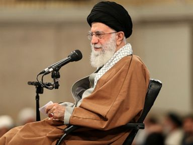 Iran's supreme leader blames US for protests over fuel costs