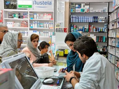 As US sanctions hit Iran, residents complain of medicine shortages