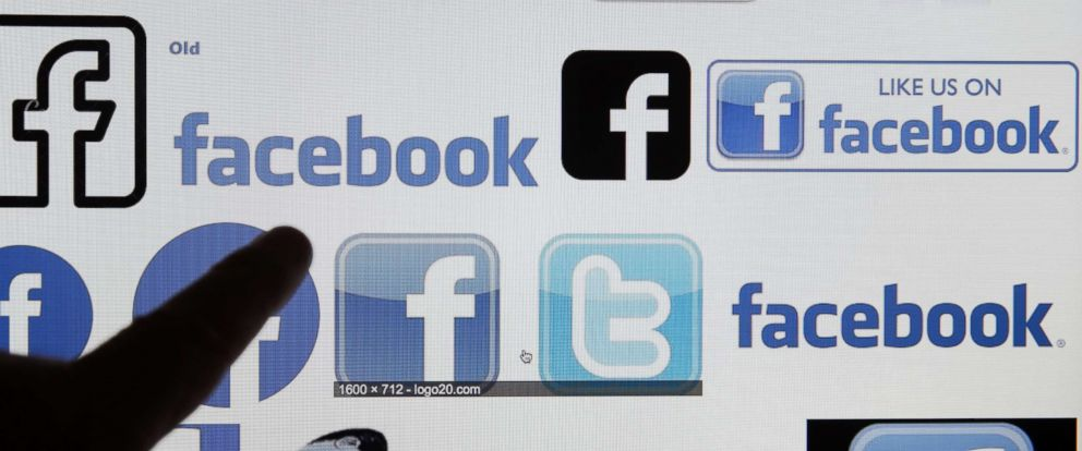 PHOTO: A photo illustration showing various Facebook logos on a computer screen, March 20, 2018 in Paris, France.