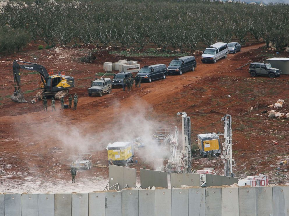 United Nations  peacekeepers confirm Israeli report of tunnel at Lebanon border