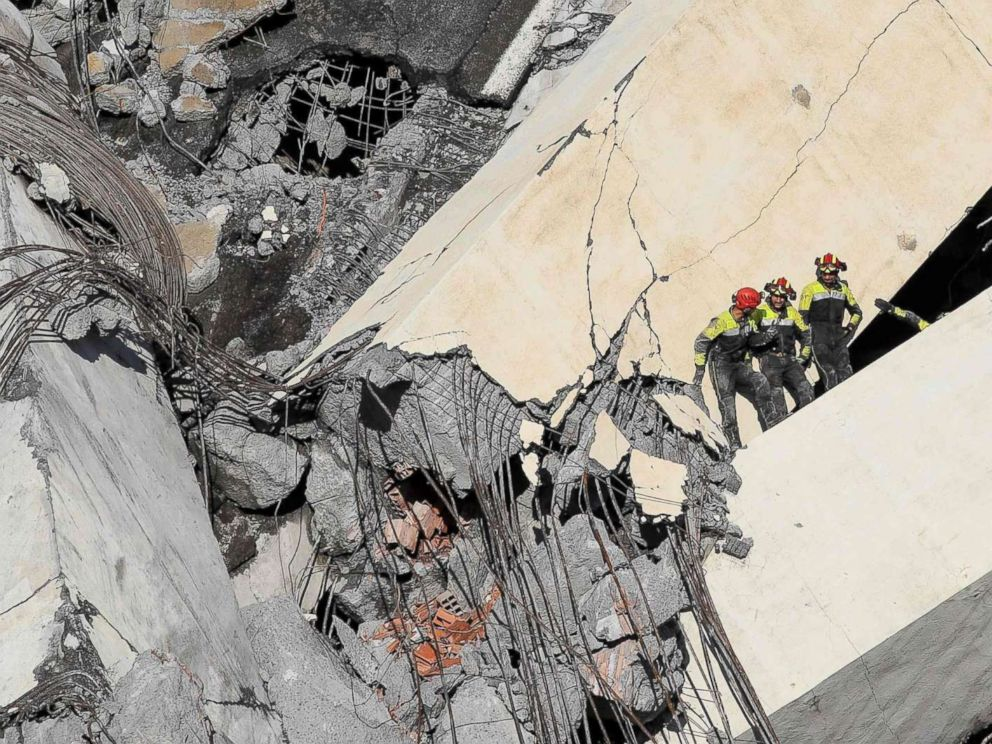 Survivors of bridge collapse share dramatic tales of escape