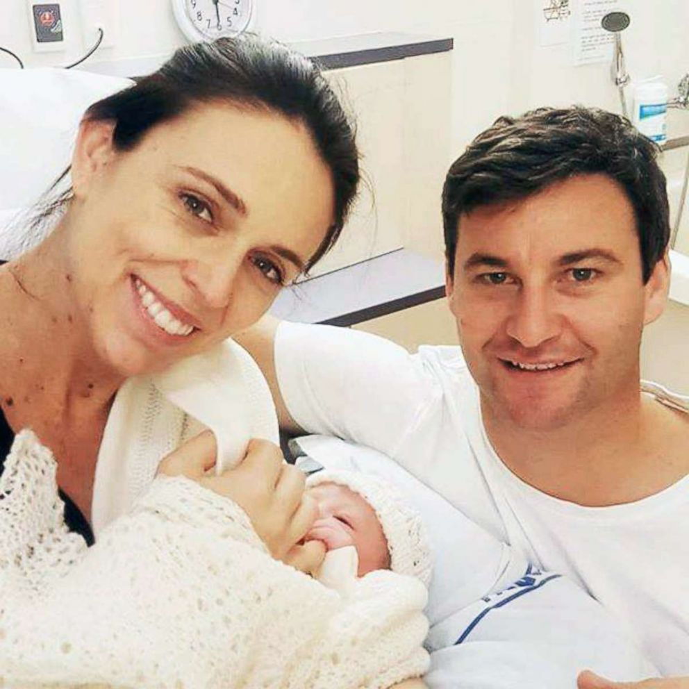 PHOTO: New Zealand Prime Minister Jacinda Ardern gave birth to her daughter Neve on June 21.