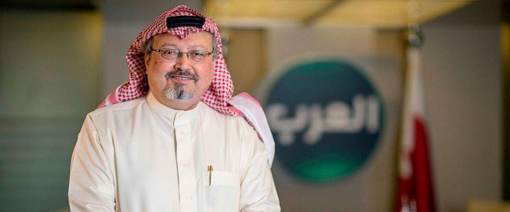 PHOTO: Saudi journalist Jamal Khashoggi in photo from 2014, was killed in Istanbul on Oct. 2, 2018.