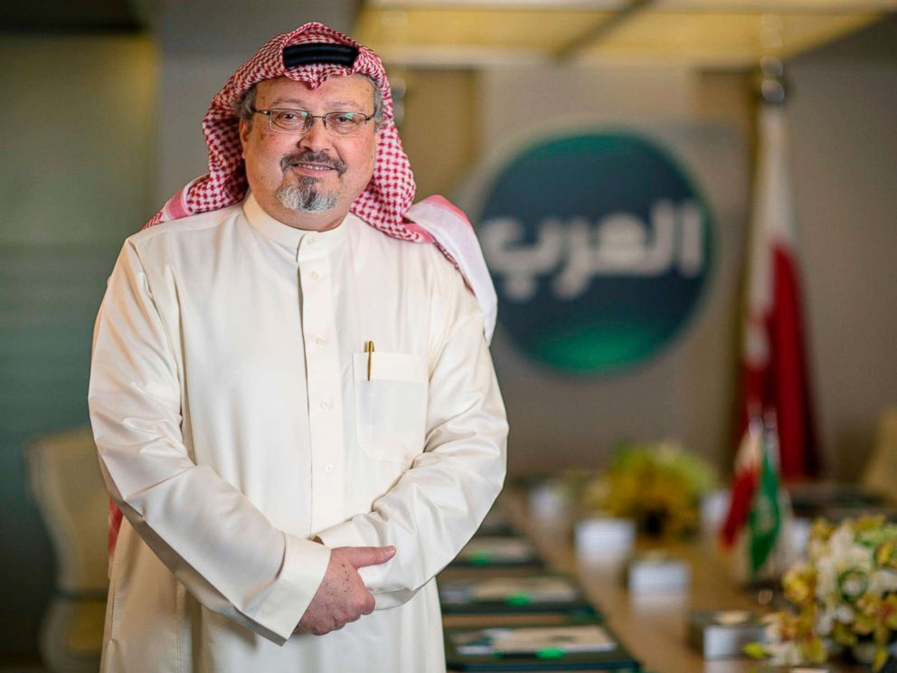 PHOTO: Saudi journalist Jamal Khashoggi in photo from 2014, was killed in Istanbul on Oct. 2, 2018.