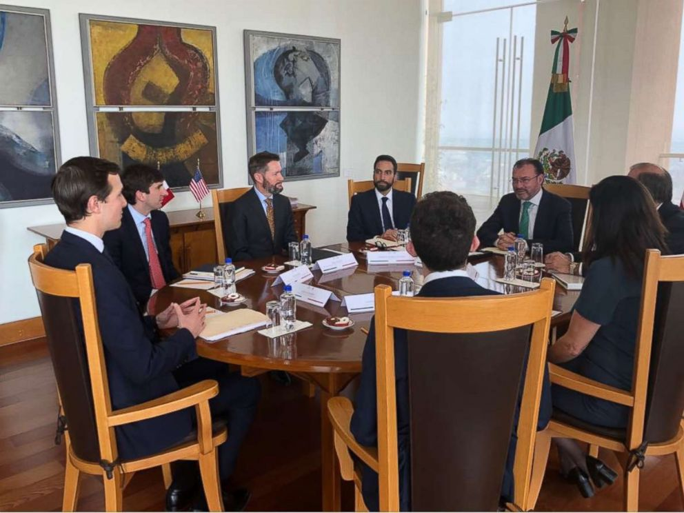 PHOTO: Jared Kushner, President Trumps senior adviser and son-in-law, meets with Mexican Foreign Secretary Luis Videgaray on Wednesday, March 7, 2018.