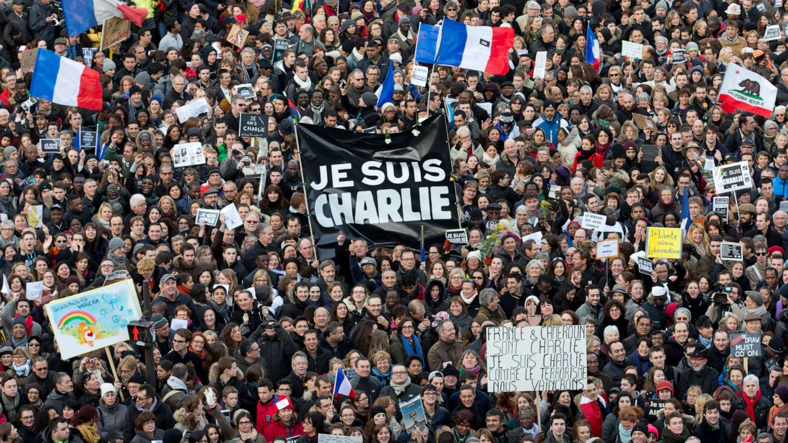 Trial To Begin For Suspects In Charlie Hebdo Terror Attack Abc News