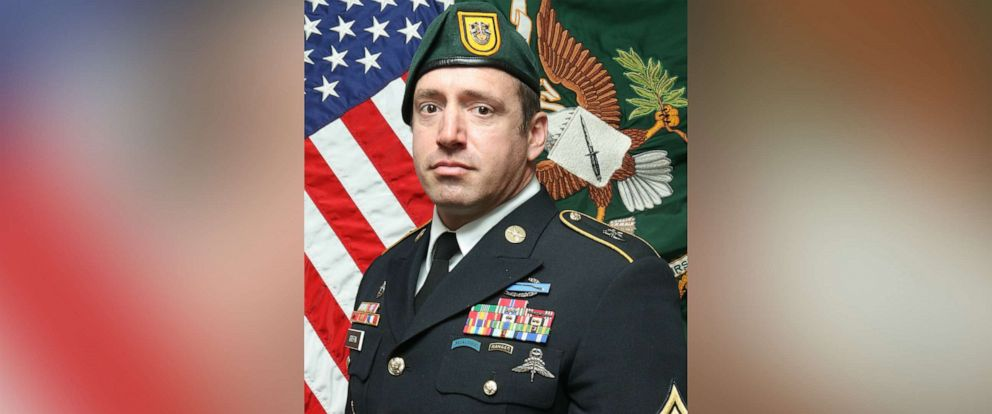 PHOTO: Sgt. 1st Class Jeremy W. Griffin, 40, from Greenbrier, Tennessee, was killed in action Sept. 16, 2019, by small arms fire when his unit was engaged in combat operations in Wardak Province, Afghanistan.