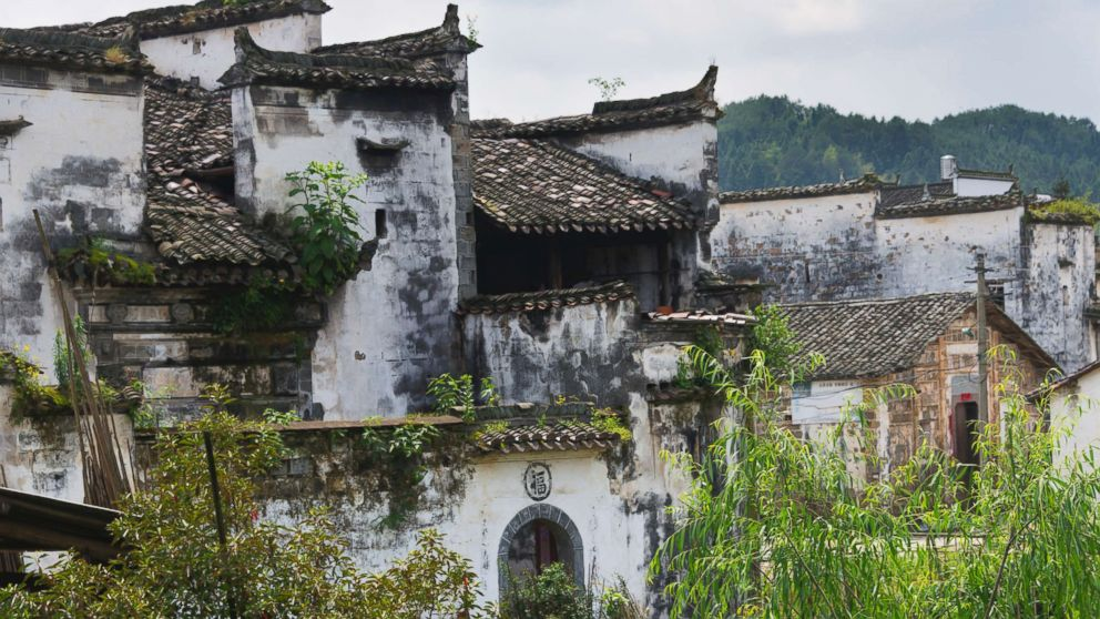 In this undated stock photo shows a traditional Huizhou-style house, in Jiangxi Province, China.