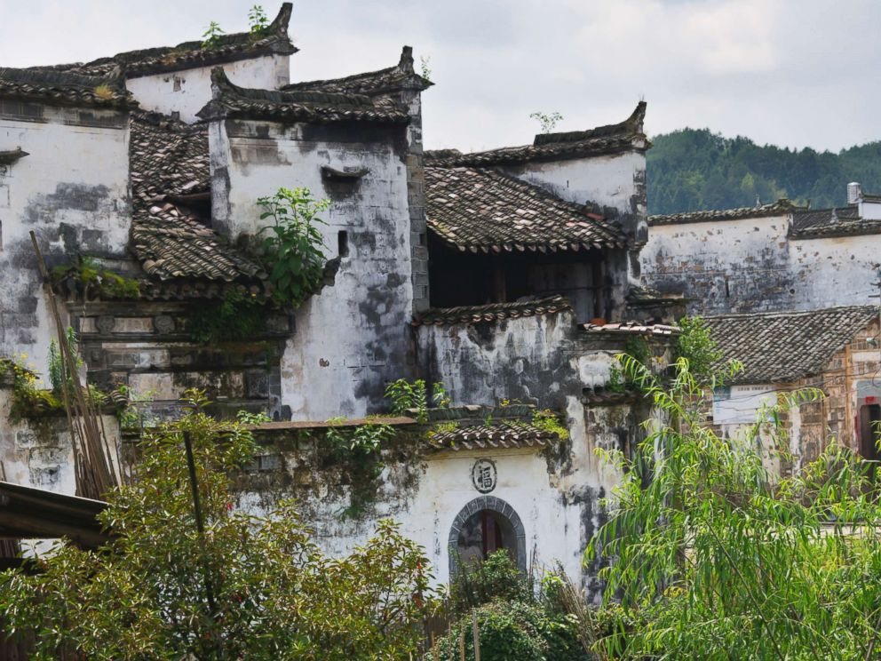 PHOTO: In this undated stock photo shows a traditional Huizhou-style house, in Jiangxi Province, China.