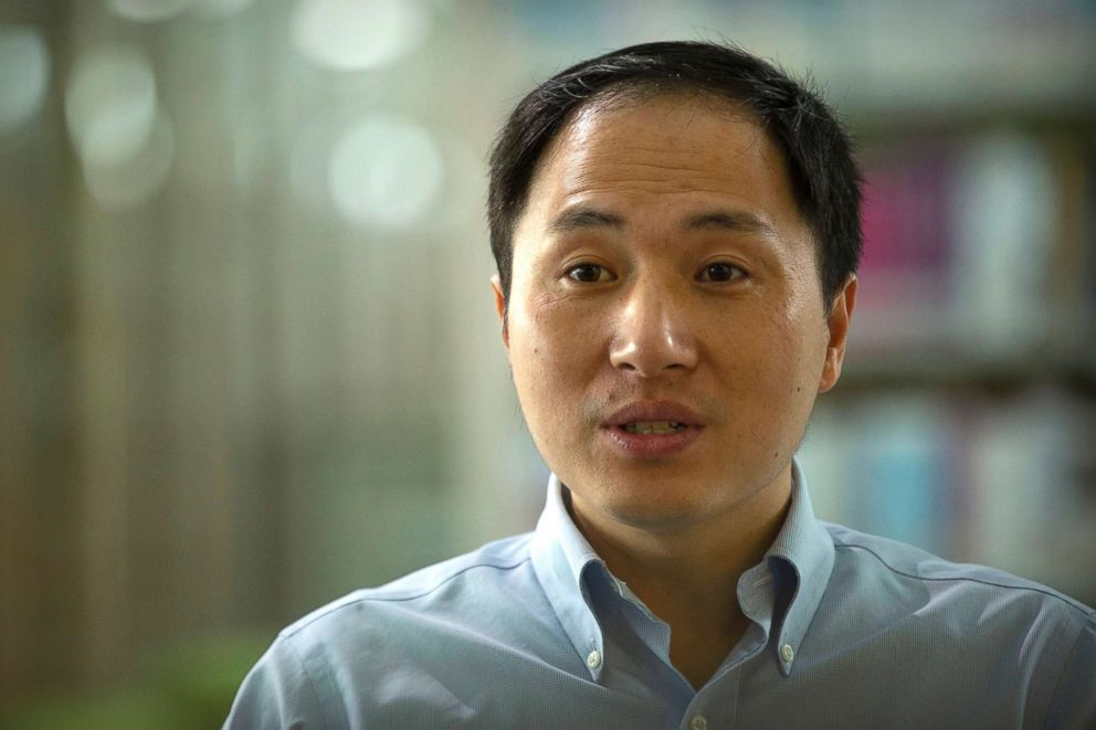 PHOTO: Scientist He Jiankui speaks during an interview in Shenzhen in southern Chinas Guandong province, Oct. 10, 2018.