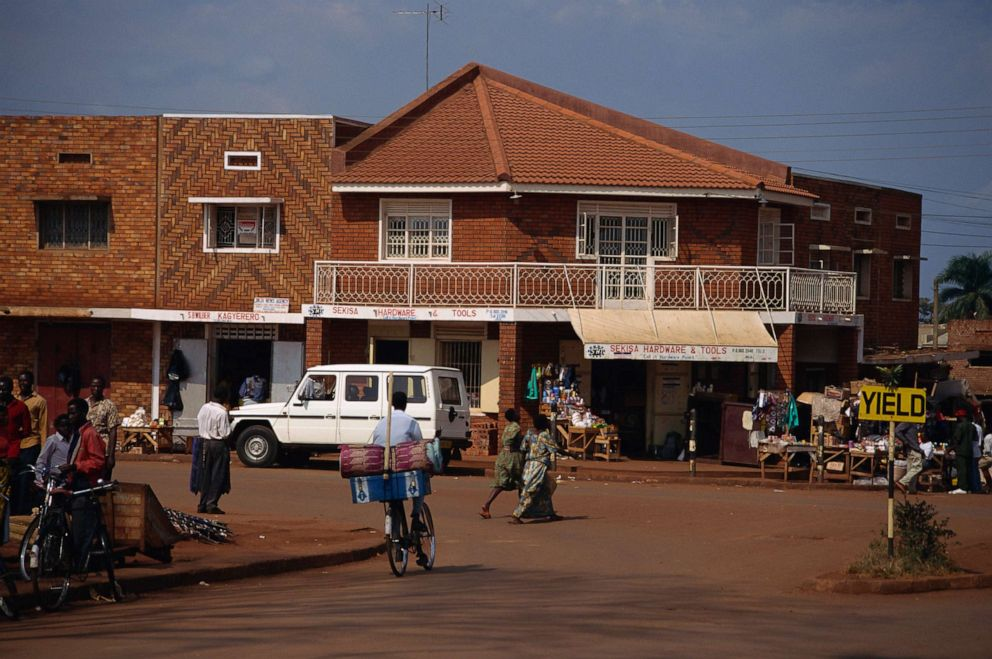 PHOTO: In this undated photo, a street scene in Jinja, Uganda is shown.
