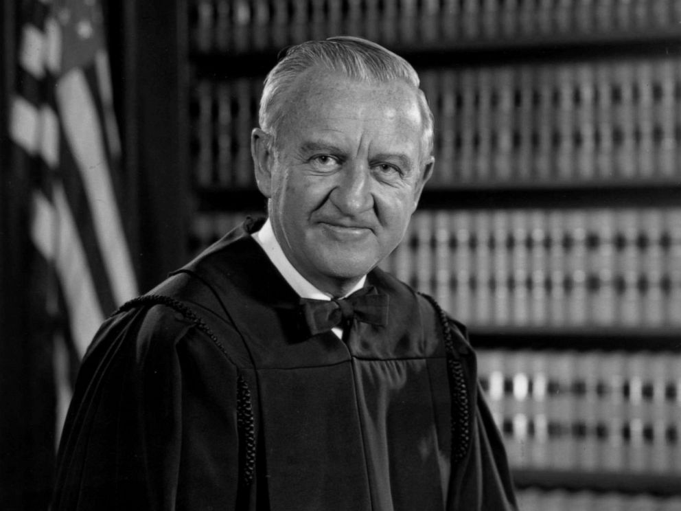 PHOTO: Justice John Paul Stevens is seen in his chambers in this undated photo.