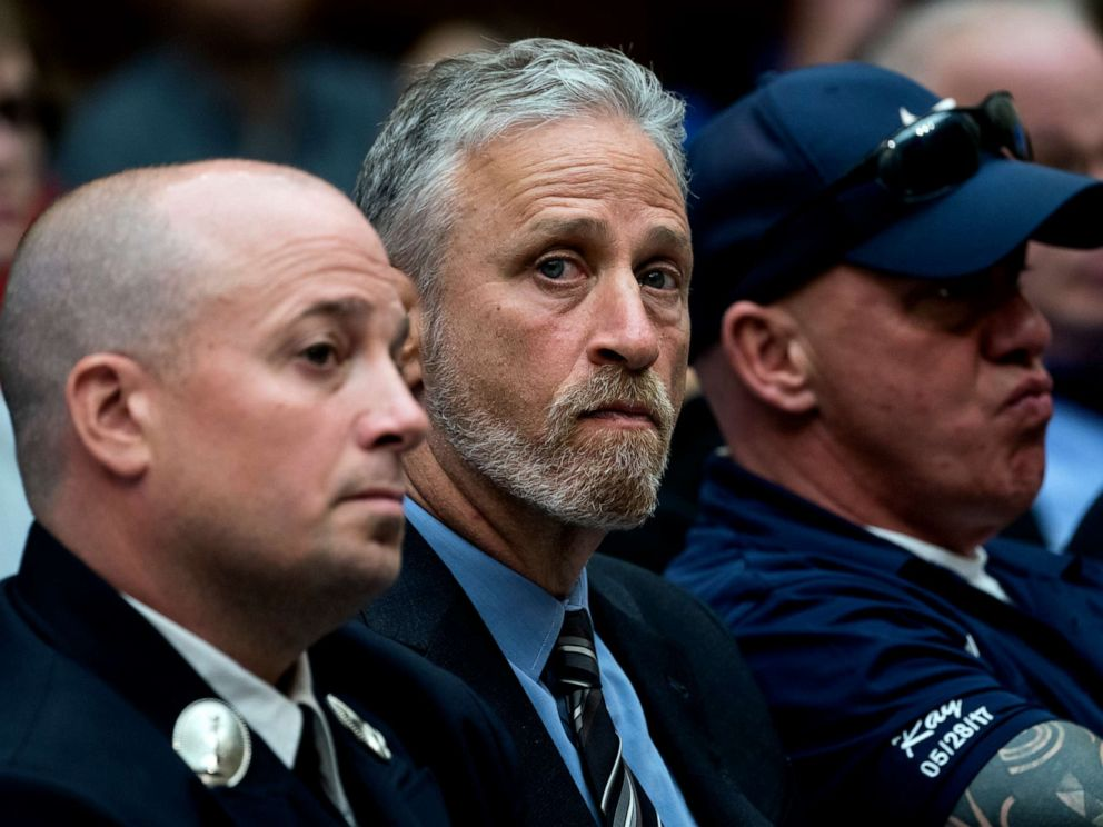 After emotional testimony by Jon Stewart, House panel approves 9/11 victims' fund