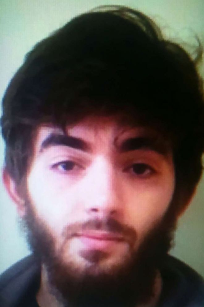 PHOTO: Khamzat Azimov, a 20-year-old Frenchman born in Chechnya, who is the suspect in a Paris knife attack on May 12, 2018, is pictured in this undated handout photo obtained on May 13, 2018.