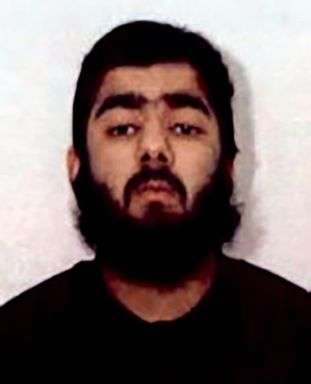 PHOTO: This undated photo provided by West Midlands Police shows Usman Khan. UK counterterrorism police are searching for clues into an attack that left two people dead and three injured near London Bridge.