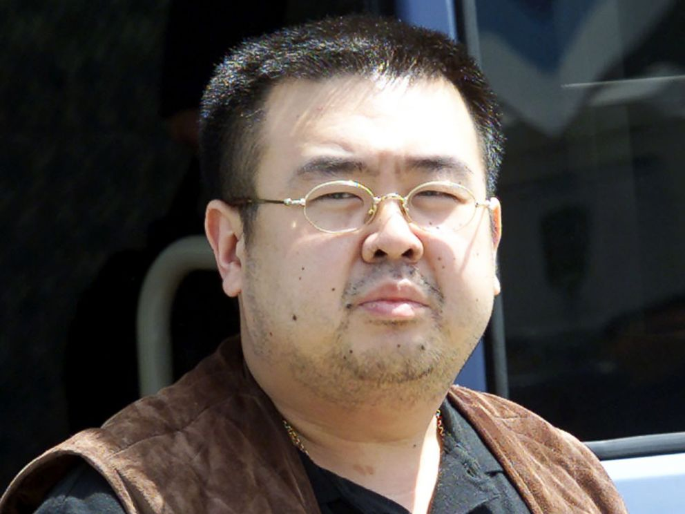 PHOTO: This file photo taken May 4, 2001 shows Kim Jong-Nam, son of North Korean leader Kim Jong-Il, getting off a bus to board an airplane at Narita airport near Tokyo.