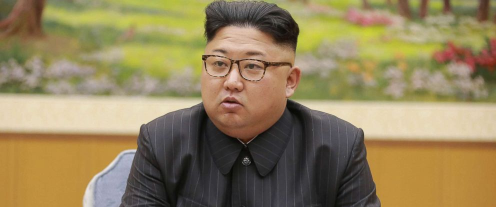 PHOTO: North Koreas leader Kim Jong Un, Sept. 3, 2017.