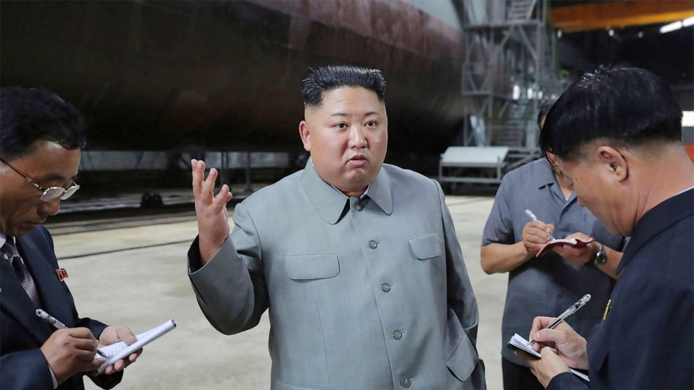 North Korean leader Kim Jong Un inspects new sub that could potentially threaten US thumbnail