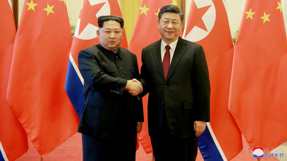 North Korea's Kim Jong Un visits China in 1st foreign trip as ...