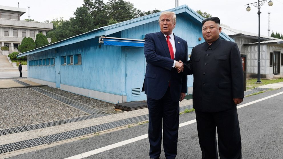 Trump In Nordkorea