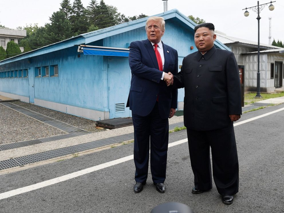 Image result for trump dmz korea