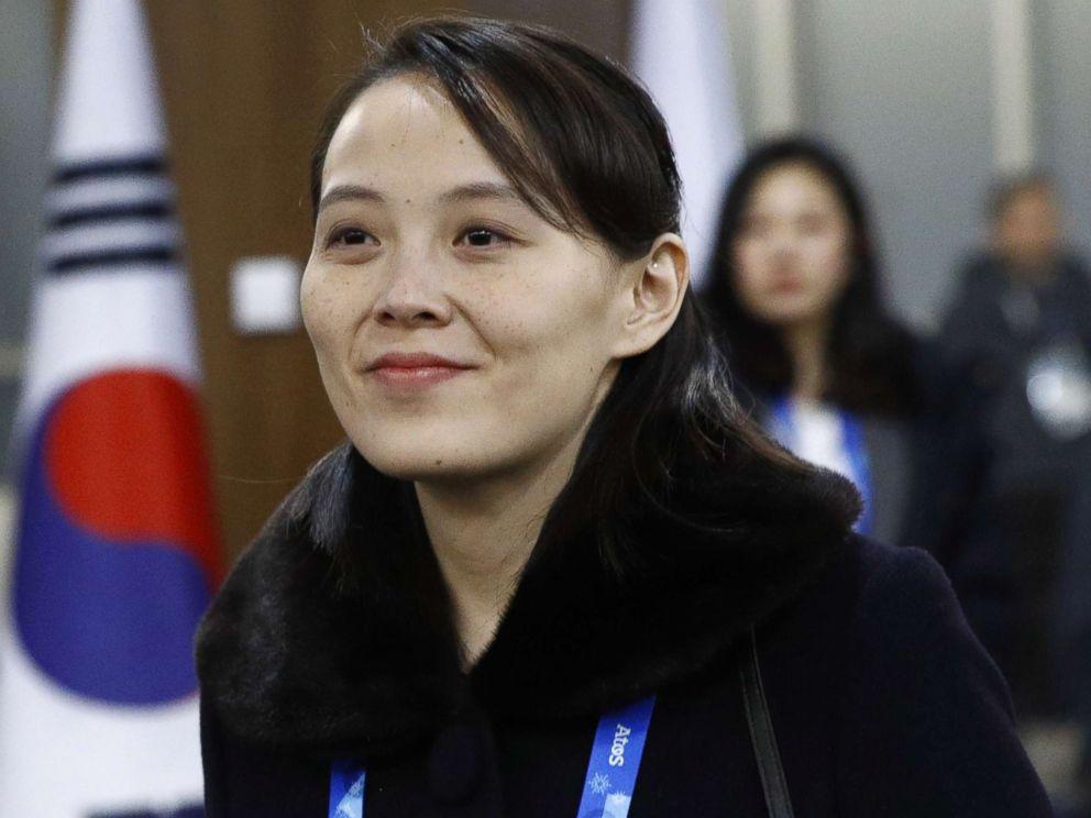 PHOTO: Kim Yo Jong, sister of North Korean leader Kim Jong Un, arrives at the opening ceremony of the PyeongChang 2018 Winter Olympic Games at PyeongChang Olympic Stadium, Feb. 9, 2018 in Pyeongchang-gun, South Korea.