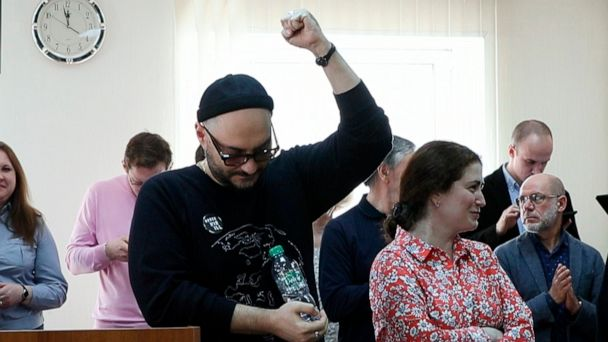 Top Russian director Kirill Serebennikov released from house arrest after almost 16 months