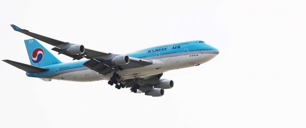 PHOTO: An undated stock photo of a Korean Air plane.
