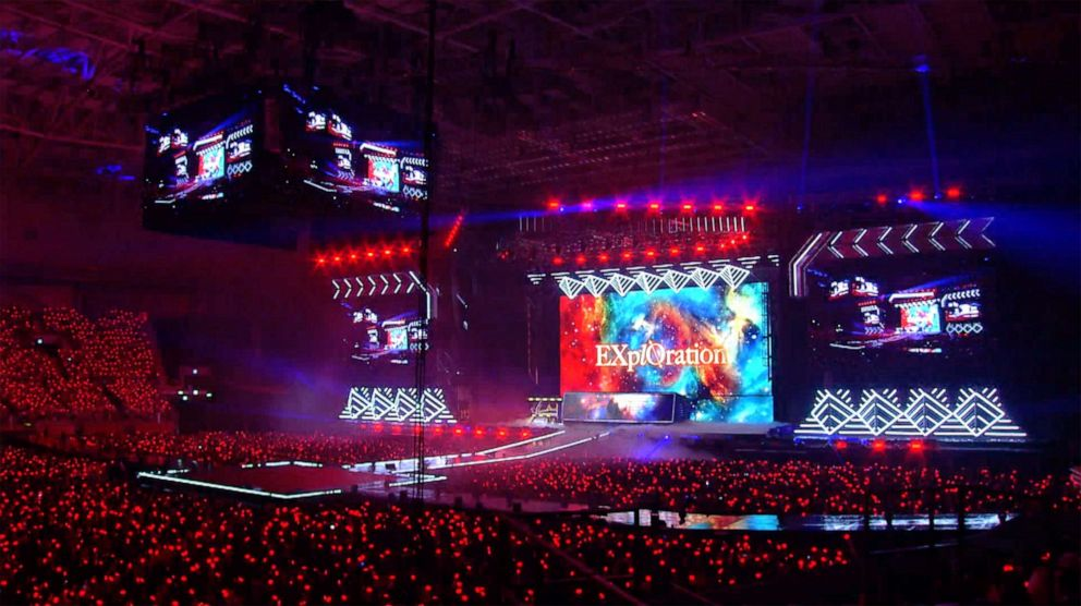 PHOTO: K-pop boyband EXO held its 5th concert in Seoul, South Korea.